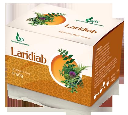 Ceai Laridiab – 40 plicuri