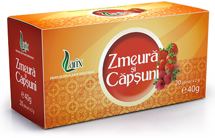 Raspberry and strawberry tea – 20 bags