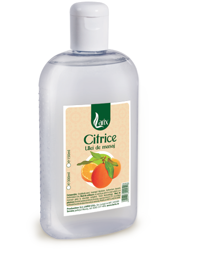 Citrus massage oil – 300ml