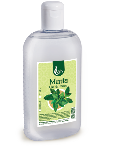 Mint massage oil – 300ml