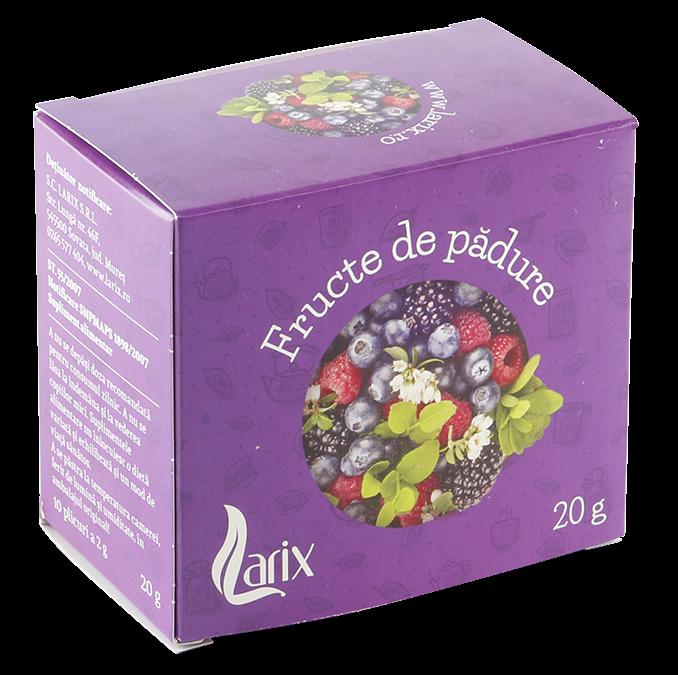 Fructe de padure, 10 doze cu supraplic